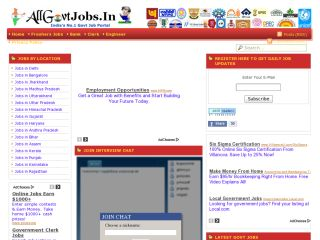 allgovtjobs in india for freshers 2012