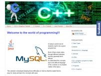 Learn Online C,C++,Java,C Graphics,HTML Programmin