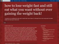 how to lose weight fast and still eat what you wan