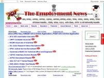 India Employment News and Exam Results