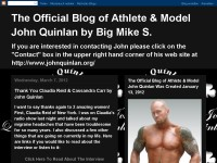 The Official Blog of Athlete & Model John Quinlan