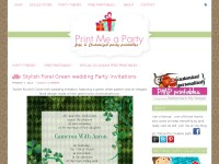 Party Printables and Invitations