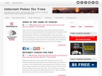 Internet poker for free