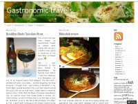 Gastronomic travels