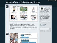 AccuraCast - Interesting bytes