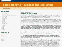Forex money, IT business and Real Estate