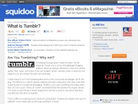 What is Tumblr?