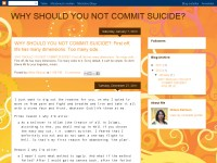 Why Should You Not Commit Suicide?
