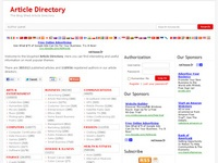 The Blog Shed Article Directory