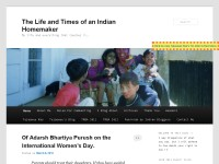 The Life and Times of an Indian Homemaker