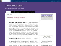 Child Safety Digest