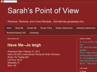 Sarah's Point of View