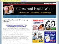 Fitness And Health World