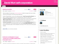 David Mort self-corporation