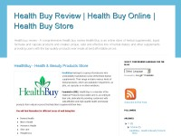 Health Buy Review | Health Buy Online | Health Buy