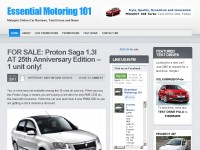 Andy's Motoring Guide