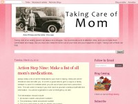 Taking Care of Mom-Elderly Parent Care