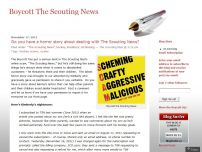 Boycott The Scouting News