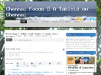 Chennai focus - A tabloid on chennai