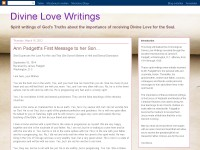 Divine Love Writings