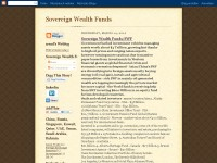 International Sovereign Wealth Funds - SWF