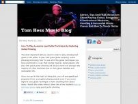 Tom Hess Music Blog