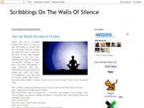 Scribblings On The Walls Of Silence