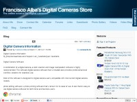 Francisco Alba Online Digital Cameras Store