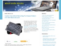 about kindle ebooks