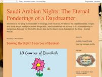 Saudi Arabian Nights:Eternal ponderings of a daydreamer