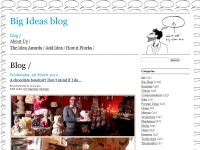 Big Ideas blog