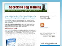 Secrets to Dog Training Review - Ebook Download ??