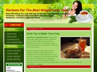 Reviews For The Best Weight Loss Teas - Tava Tea