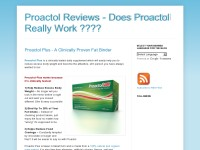 Proactol Reviews - Does Proactol Really Work ????