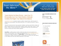 Yeast Infection No More Review - eBook Download ??