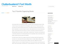 Professional Organizing Fort Worth
