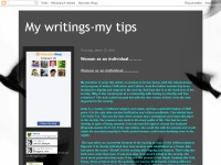 my writings-my tips