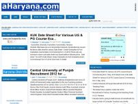 AHARYANA.COM | INDIA EDUCATION NEWS | JOB ALERT |