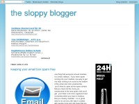the sloppy blogger