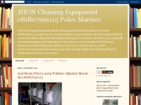 JHON Cleaning Equipment Poles Marmer 081807991115