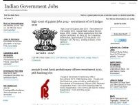 Indian Government Jobs - Government Jobs in India,