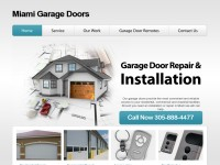 Garage Doors Repair Miami