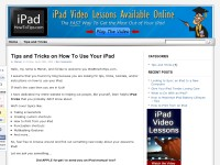 iPad Tips and Tricks