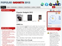 Electronic Gadgets Outlet 2012