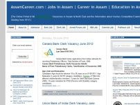 AssamCareer.com : Jobs in Assam | Career in Assam