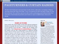 Pageturners & Curtain Raisers
