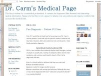 Dr. Carm's Medical Page