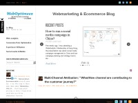 Weboptimeez, Emarketing blog
