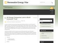 Renewable Energy Vibe