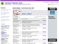Sarkari Naukri Job - India Government Jobs